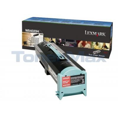 LEXMARK W840 TONER CARTRIDGE BLACK 30K